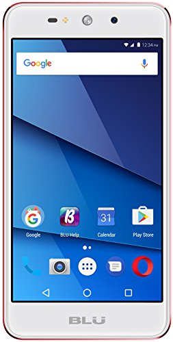 BLU Grand XL G150Q Unlocked GSM Dual-SIM Phone w/ 8MP Camera - Rose Gold