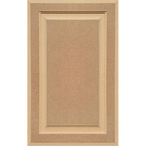 Merveilleux Unfinished MDF Cabinet Door, Square With Raised Panel By Kendor, 24H X 15W