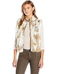 Women's Spotted Fur Vest