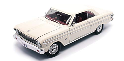 NEW 1:18 ROAD SIGNATURE SCOLLECTION - WHITE 1964 FORD FALCON Diecast Model Car By Road Signature