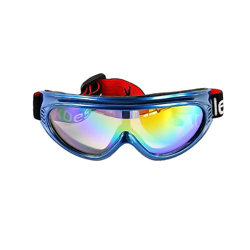 BXT Kid UV400 Ski Snow Googles Outdoor Sun Glasses Windproof Motorcycle Snowmobile Snowboard Airsoft Paintball Eyewear Goggles Protective Safety Glass Sunglasses UV Protection Sports Ski Goggles, - Sun Google Glasses