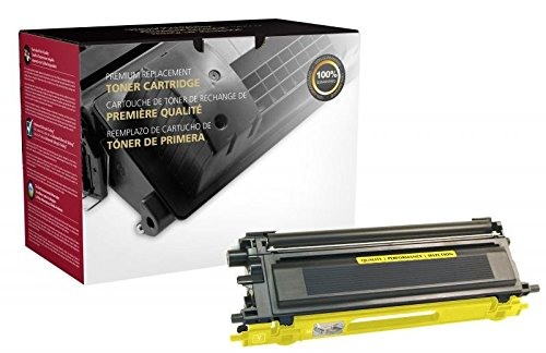 Inksters Remanufactured High Yield Yellow Toner Cartridge Replacement for Brother TN115-4K ()