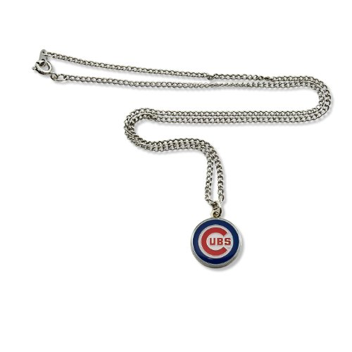 Team Necklace Logo - MLB Chicago Cubs Team Logo Necklace