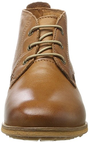 Mela Di Eden Damen Bruna Chukka Boots Braun (dk Cognac)