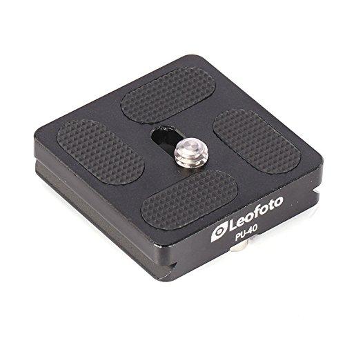 Leofoto PU-40 40mm Lens/Camera QR Plate Arca/RRS Lever Clamp Compatible