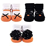 Hudson Baby Unisex Baby Socks Boxed Giftset, Black Cat, One Size