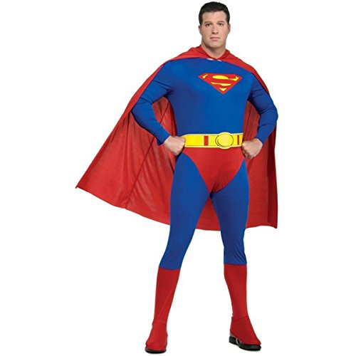 Superman Adult Costume - Plus Size