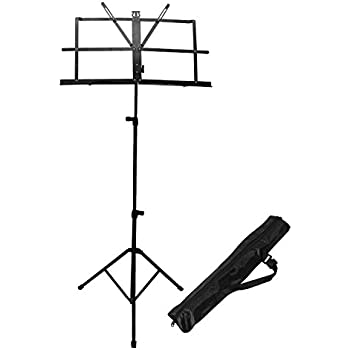 Amazoncom Chromacast Cc Mstand Folding Music Stand With Carry Bag