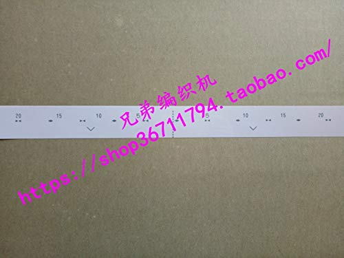 ShineBear 5pcs for Brother Spare Parts KR260 B37 Ruler by ShineBear (Image #1)