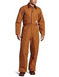 Men's Quilt Lined Duck Coveralls X01