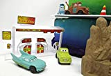 Cars 14 Piece Birthday Cake Topper Set Featuring