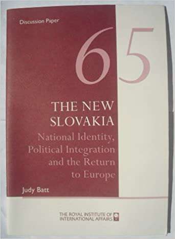 Book The New Slovakia (RIIA Discussion Paper)