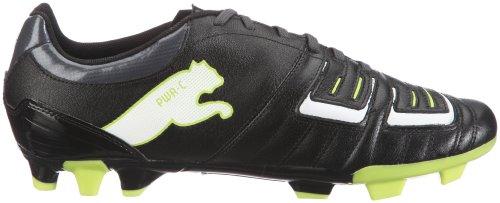 Schwarz Black mixte adulte white FG 12 lime dark 02 Football 3 Punch Shadow PWR Puma nSwU8q0HU