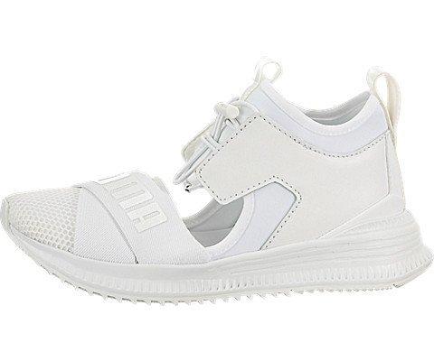 22b5955a PUMA Women's x Fenty Avid Sneakers, Puma White/Drizzle/Puma White, 6