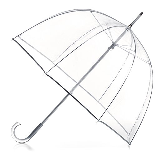 totes Signature Clear Bubble Umbrella ()