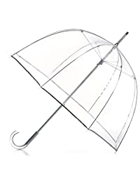 totes Signature Clear Bubble Umbrella, Nordic Tiles, One Size
