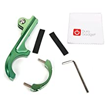 DURAGADGET Ultra-Strong Forged Aluminium Handlebar Mount in Green with GoPro Style Mount - Compatible with the Eken H9 | H8 | H3 Action Cameras