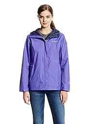 Columbia Women\'s Arcadia II Jacket, Purple Lotus/Skyward, X-Large