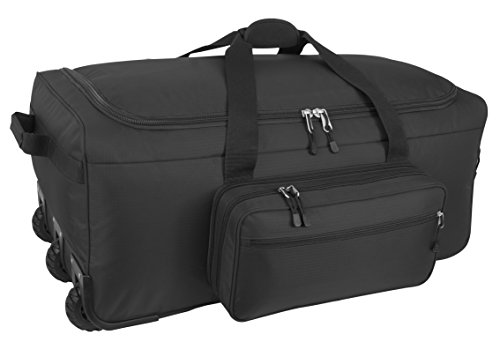 Code Alpha Mini Monster Wheeled Deployment Bag, Black by Code Alpha