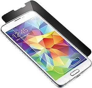 لاصقة حماية زجاجية لهاتف سامسونج جالكسي S5 - شفافة