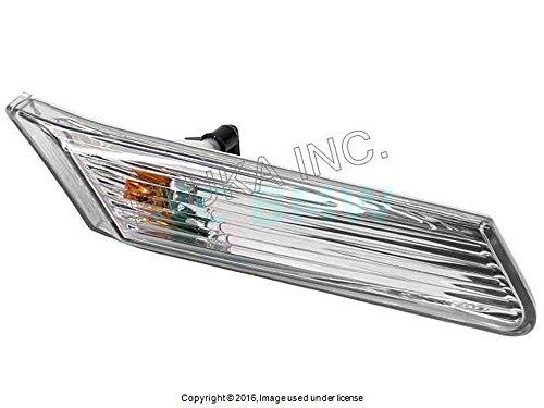 Clear Side Marker Euro Front (Genuine Porsche 997 Carrera Side Marker Light CLEAR Euro Front right 99763103402)