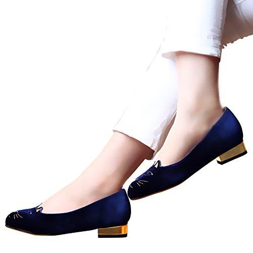 Jushee - Sandalias mujer Azul