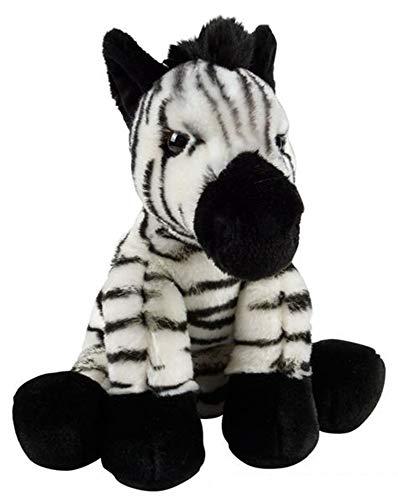 Plush Stuffed Zebra - Wildlife Tree 12
