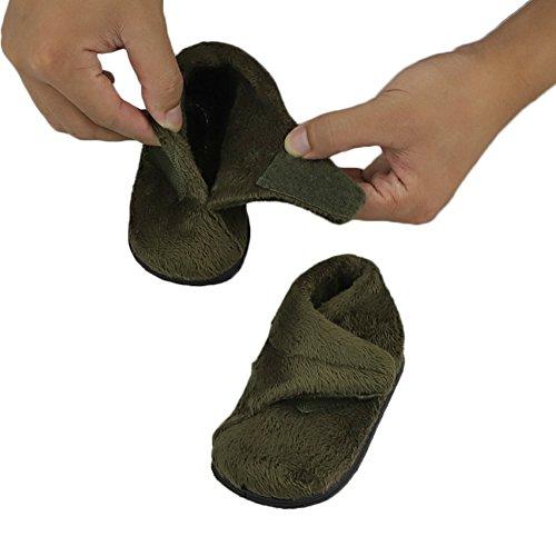 Winter Unisex Baby Girls Boys Velvet Rubber Sole Anit-Slip Shoes Prewalker Boots by Secret Slippers (Image #1)