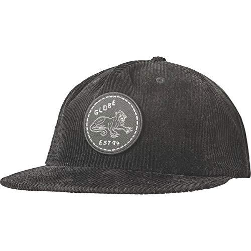 Globe Men's Almost Strapback Adjustable Hats,One Size,Black