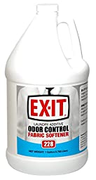 Big D 8228 EX-IT Laundry Additive Odor Control Fabric Softener, 1 Gallon (Pack of 4)
