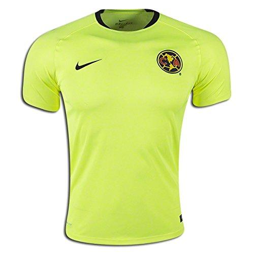best service ad0b3 3892a Nike Soccer Replica Jersey: Nike Club America Flash Training Replica Soccer  Jersey 15/16 XL