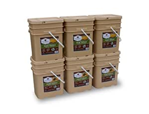 Wise Company 720 Serving Package (120-Pounds, 6-Buckets)