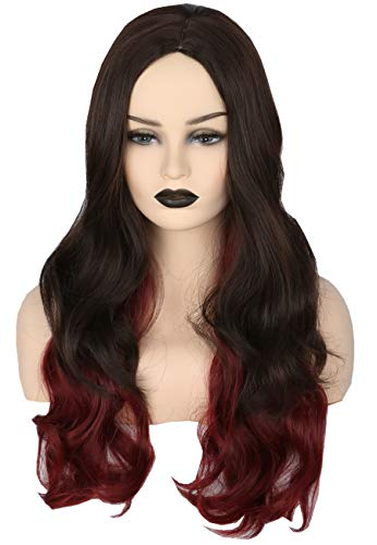 Topcosplay Long Wave Ombre Wig Anime Cosplay Wig