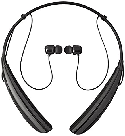 LG Electronics Tone Pro HBS-750 Bluetooth Wireless Stereo Headset - Retail Packaging - Black (Lg Bluetooth Headset Tone Pro)
