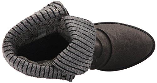 Alexi Rock Blowfish Knit Pu Grey Boot Women's Saddle F4Aqw5