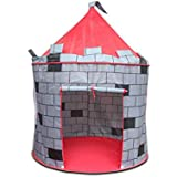 Foldable Kids Play Tent Children Castle Cubby Play House Outdoor Tents