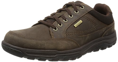 Hombre Technique Marrón Rockport Oxford Brown dark Trail Waterproof q6IwBf