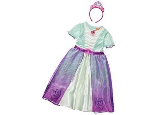 Girls Kids Official Nella The Princess Knight Fancy Dress Costume (3-4 Years) ()