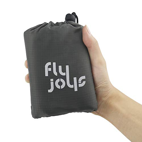 Fly Joys Waterproof Outdoor Portable Picnic Beach Blanket Pocket Blanket Ground Cover,Sand Proof Mat for Camping,Beach,Picnic,Hiking by Soft & Quick Drying Ripstop Nylon by Fly Joys