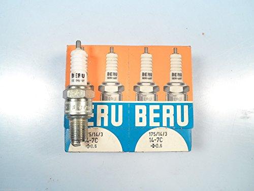 Beru Spark Plugs - Nash Metropolitan A30 A40 Lancia Appia MGTF MGTD Porsche 914/4 Beru Spark Plugs
