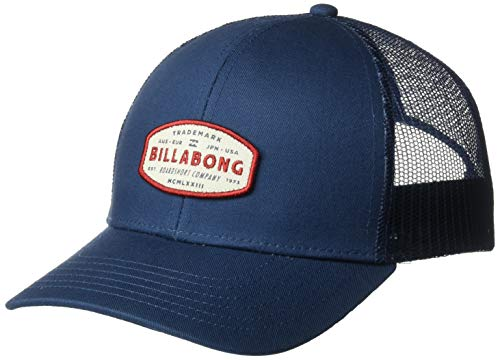Billabong Men's Walled Trucker Hat Blue One ()