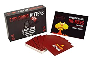 Exploding Kittens: NSFW Edition (Explicit Content - ADULTS ONLY!) by Exploding Kittens LLC