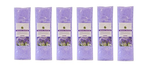 6PC Paraffin Wax Refill Spa Antibacterial Liquid Treatment 16 fl. oz. (Lavender) (Paraffin Wax Suppliers)