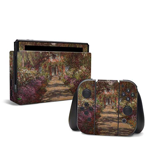 Monet - Garden at Giverny - Decal Sticker Wrap - Compatible with Nintendo -