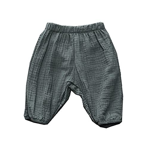 Winzik Newborn Infant Baby Kids Outfits Solid Color Summer Casual Shorts Harem Pants Trousers (6-12 months, Green)