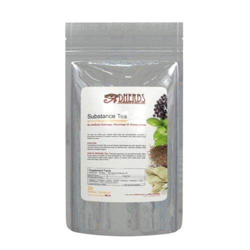 UPC 818103012611, Dherbs Substance Tea, 40 Grams