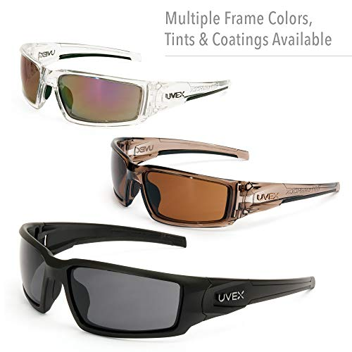 Uvex by Honeywell Hypershock Safety Glasses, Black Fame with Espresso Polarized Lens & Anti-Scratch Hardcoat (S2949) by Honeywell (Image #6)