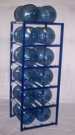 Exceptionnel ShaCo Racks 5 Gallon Water Bottle Storage Rack With 12 Bottle Capacity