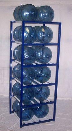 Charmant ShaCo Racks 5 Gallon Water Bottle Storage Rack With 12 Bottle Capacity