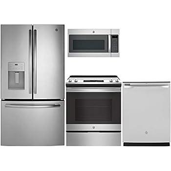 Amazon.com: GE Cafe - Juego de 4 piezas de cocina con ...